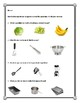 Daily Living/Life Skills: Reading a Recipe (Banana Bread)