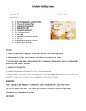 Daily Living/Life Skills: Reading a Recipe (Birthday Cake)