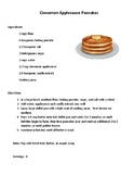 Daily Living/Life Skills: Reading a Recipe (Pancakes)