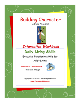 Building Character Workbook-Daily Living Skills