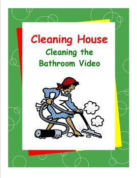 DLS Video--Cleaning the Bathroom-Daily Living Skills