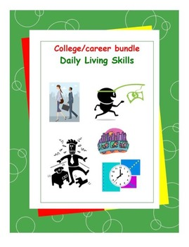 Daily Living Skills-College and Career Workbooks Bundle Pack