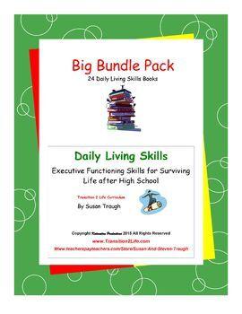 Big Workbooks Bundle-Daily Living Skills