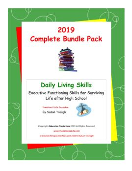 Daily Living Skills - Complete Bundle Pack