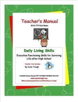 Daily Living Skills Complete Bundle with Teacher's Manual