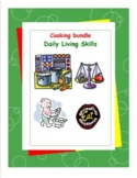 Daily Living Skills-Cooking Workbooks Bundle Pack
