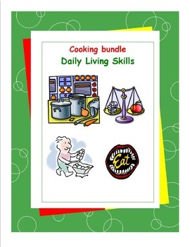 Daily Living Skills-Cooking Workbooks Bundle Pack