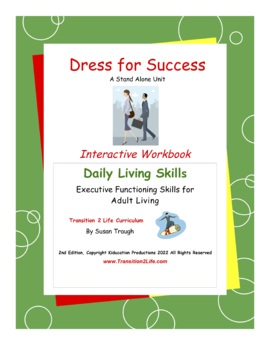 DLS Dress for Success Workbook-Daily Living Skills by ...