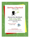 Daily Living Skills--Getting a Paycheck Workbook
