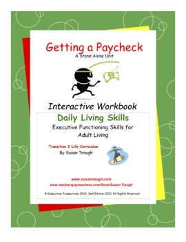 Getting a Paycheck Workbook-Daily Living Skills