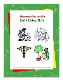 Homemaking Workbooks Bundle Pack-Daily Living Skills