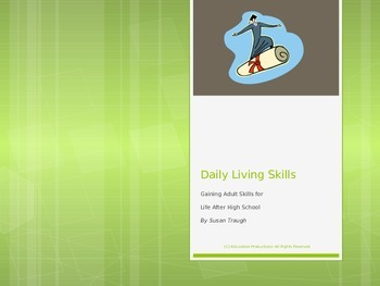 Daily Living Skills Introduction Power Point