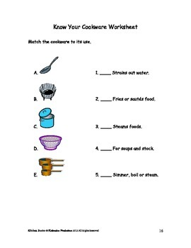 DLS Kitchen Basics Workbook-Daily Living Skills