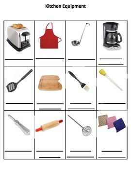 Daily Living Skills: Kitchen Equipment 2