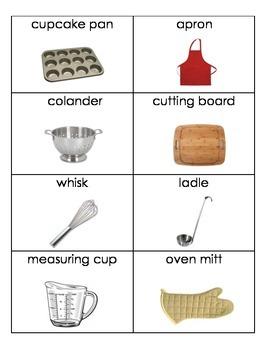 Daily Living Skills: Kitchen Flashcards