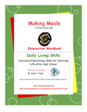 Making Meals Workbook-Daily Living Skills