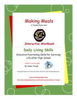 DLS Making Meals Workbook-Daily Living Skills