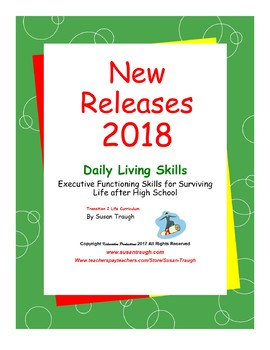 "Daily Living Skills ""New Releases 2018"" Bundle - our most requested titles"