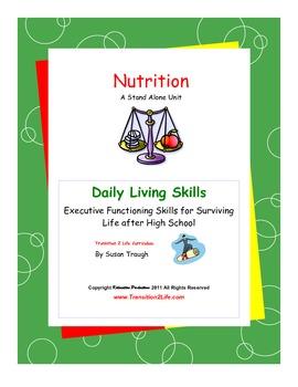 DLS Nutrition Workbook-Daily Living Skills