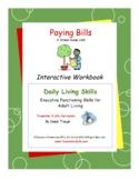 Paying Bills Workbook-Daily Living Skills