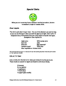 DLS Staying Healthy Workbook-Daily Living Skills
