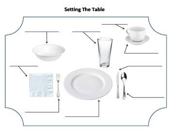 Daily Living Skills: Table Setting