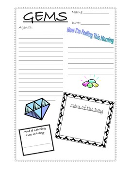 Daily Log Gifted Enrichment