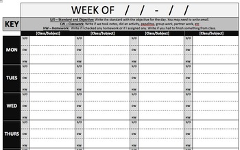 Daily Log Template (Version 1)