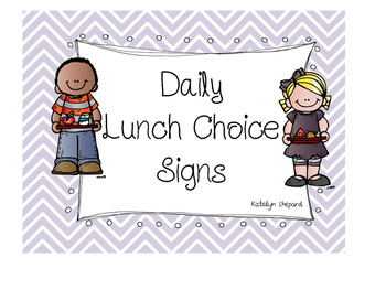 Daily Lunch Choice