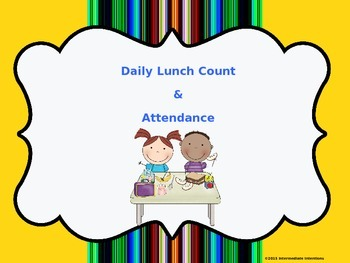 Daily Lunch Count
