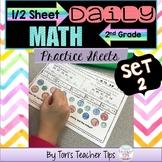 Daily MATH 1/2 sheets SET 2