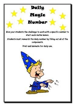 Daily Magic Number