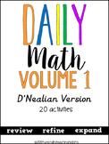 Daily Math Vol. 1 (D' Nealian)