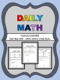 Daily Math  - 1.OA.A.1 & 1.OA.A.2 & Mixed Review