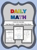 Daily Math  - 1.OA.B.3 & 1.OA.B.4 & Mixed Review