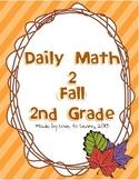 Daily Math 2 (Fall) Second Grade