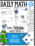 Daily Math 3 (Winter) Fifth Grade