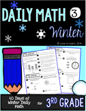 Daily Math 3 (Winter) Third Grade