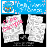 Daily Math 3rd Grade {Free Sample}