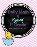 Daily Math 4 (Spring) First Grade