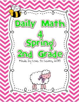 Daily Math 4 (Spring) Second Grade