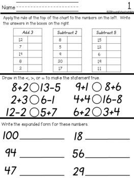 Daily Math 8 D' Nealian