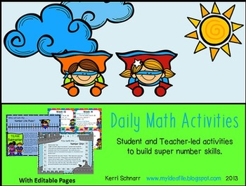 Daily Math Activities for 2nd and 3rd Grade