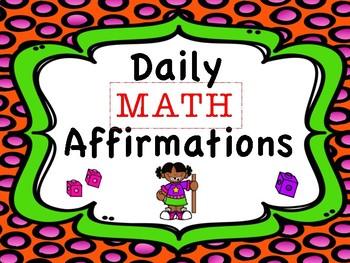 Daily Math Affirmation