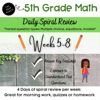 Weeks 5-8 Daily Math: Multi-Digit Multiplication Whole Numbers and Decimals