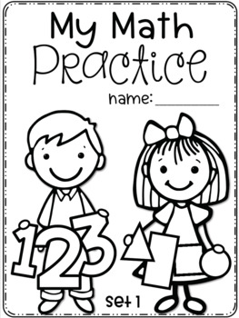 Set 4 DECEMBER Daily Math Practice and Review Worksheets for First Grade