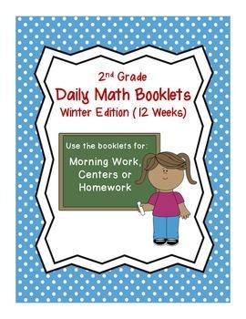 2nd Grade Daily Math-Winter Edition
