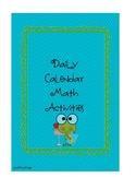 Daily Math Calendar Printables