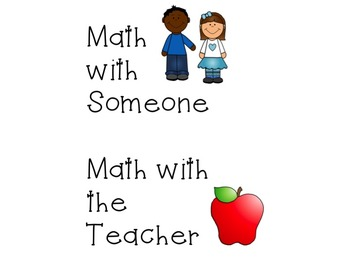 Daily Math Centers Resource Pack