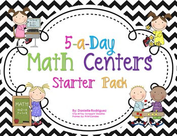 Daily Math Centers Starter Pack